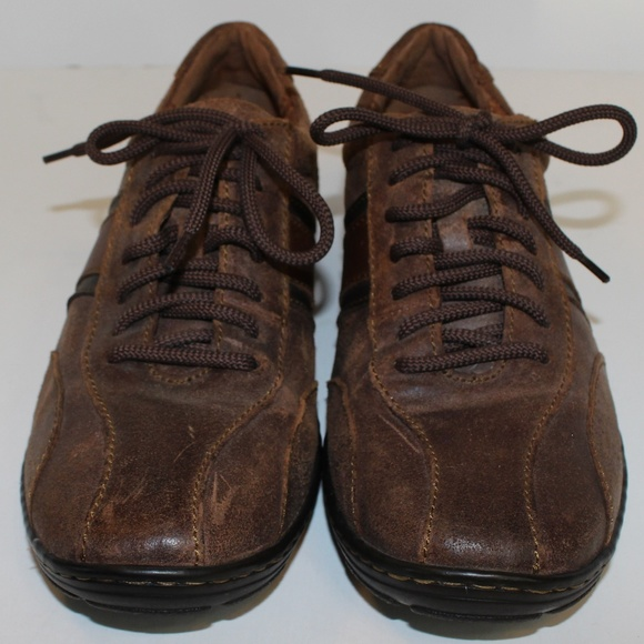 born leather sneakers